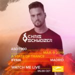 Chris Schweizer live at A State of Trance 900 (09.03.2019) @ Madrid, Spain