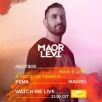Maor Levi live at A State of Trance 900 (09.03.2019) @ Madrid, Spain