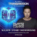 Purple Haze live at Transmission – The Awakening (16.03.2019) @ Sydney, Australia