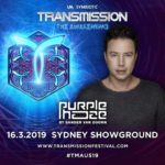 Purple Haze live at Transmission – The Awakening (16.03.2019) @ Sydney, Australia