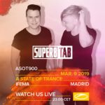 Super8 & Tab live at A State of Trance 900 (09.03.2019) @ Madrid, Spain