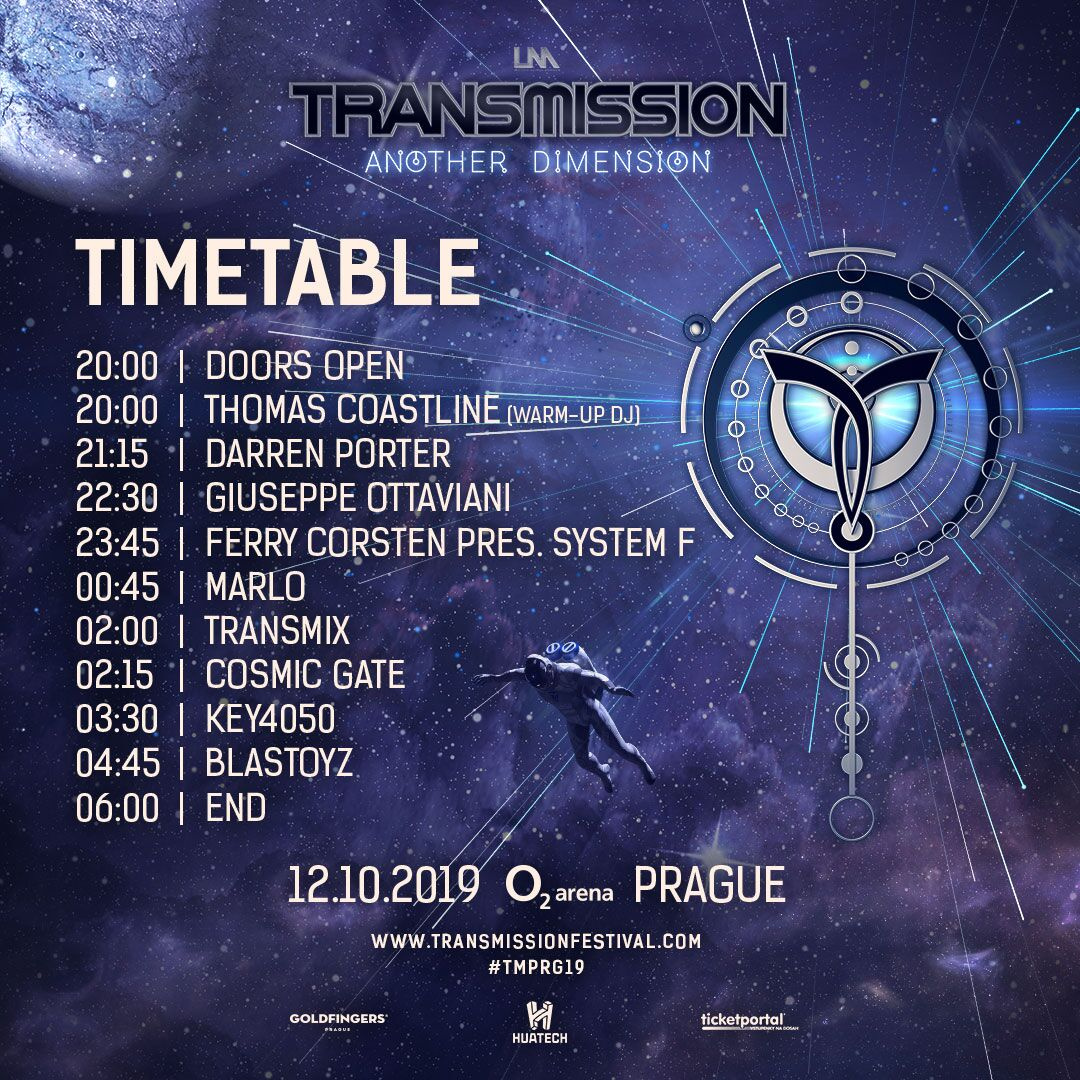 Transmission 2019 Time Table