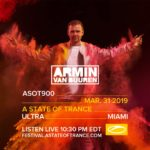 Armin van Buuren live at Ultra Music Festival 2019 (31.03.2019) @ Miami, USA
