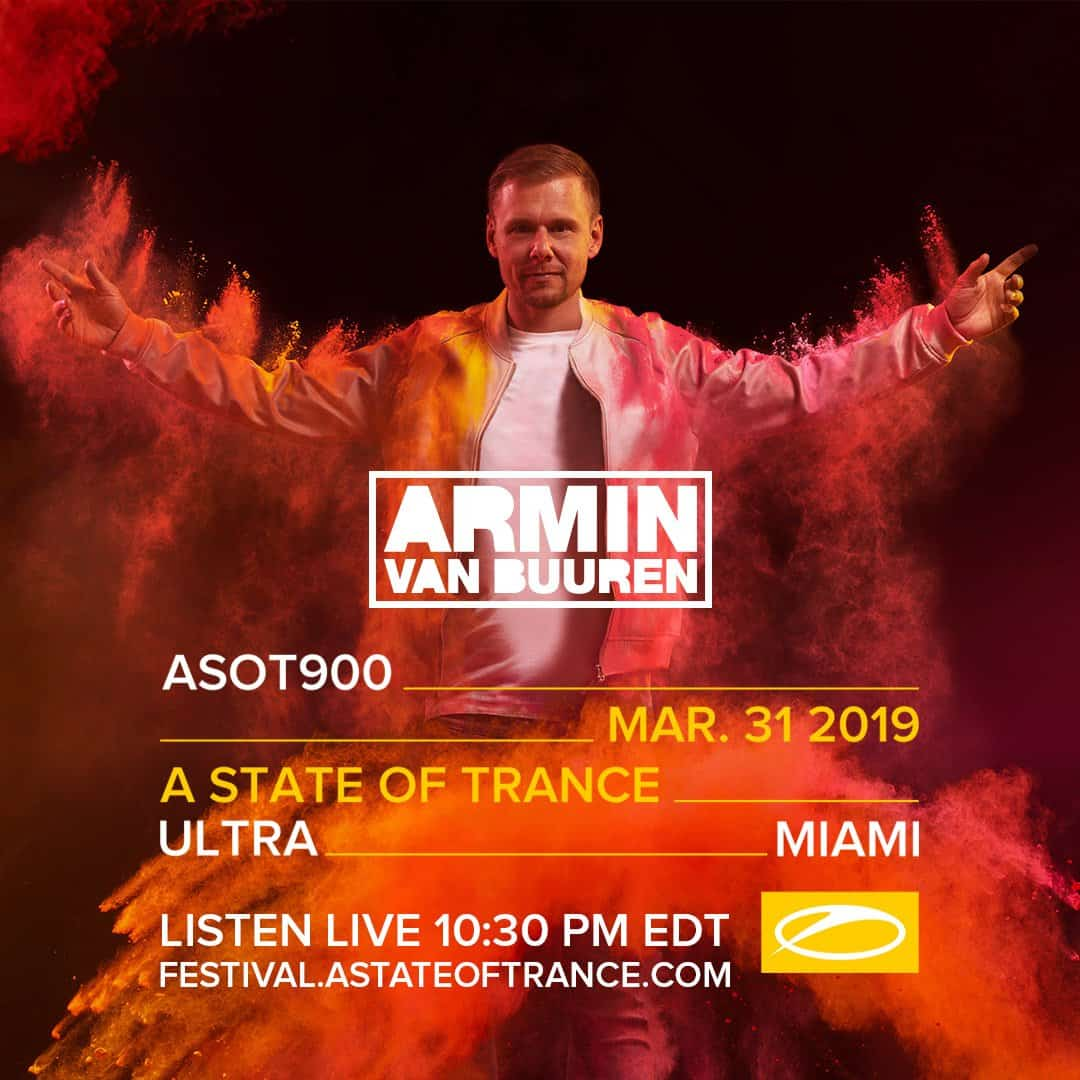 Armin van Buuren live at Ultra Music Festival 2019 (31 03