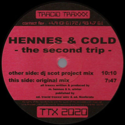 Hennes & Cold - The Second Trip (DJ Scot Project Mix)