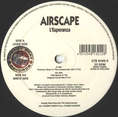 """Airscape - L'Esperanza (""""Svenson Goes To The Loveparade"""" Mix)"""
