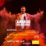 Armin van Buuren live A State of Trance 900 (22.06.2019) @ Kiev, Ukraine