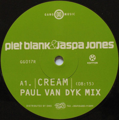 Blank & Jones - Cream (Paul van Dyk Remix)
