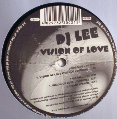 DJ Lee - Vision Of Love