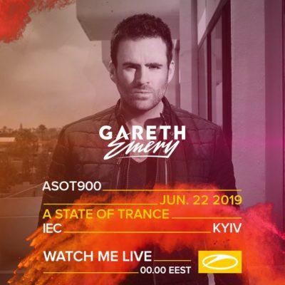 Gareth Emery live A State of Trance 900 (22.06.2019) @ Kiev, Ukraine