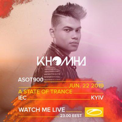 KhoMha live A State of Trance 900 (22.06.2019) @ Kiev, Ukraine