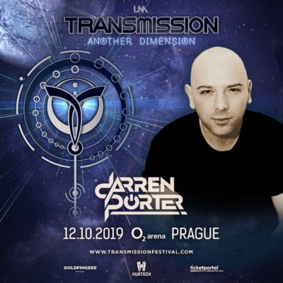 Darren Porter live at Transmission - Another Dimension (12.10.2019) @ Prague, Czech Republic