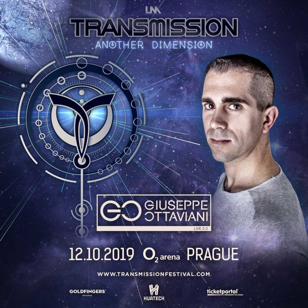 Giuseppe Ottaviani 2.0 live at Transmission - Another Dimension (12.10.2019) @ Prague, Czech Republic