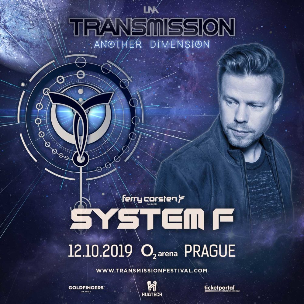 System F live at Transmission - Another Dimension (12.10.2019) @ Prague, Czech Republic