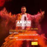 Armin van Buuren live A State of Trance 900 (29.06.2019) @ Oakland, USA