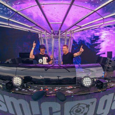 Cosmic Gate live at Tomorrowland 2019 (28.07.2019) @ Boom, Belgium