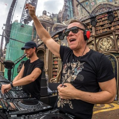 Cosmic Gate live at Tomorrowland 2019