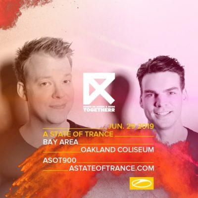 Ruben de Ronde & Rodg live A State of Trance 900 (29.06.2019) @ Oakland, USA
