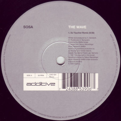 Sosa - The Wave (DJ Taucher Remix)