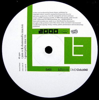 Binary Finary - 2000 (DJ JamX & De Leon Remix)