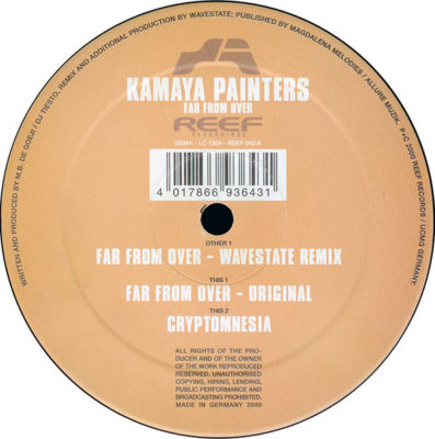 Kamaya Painters - Far From Over (Wavestate Remix)