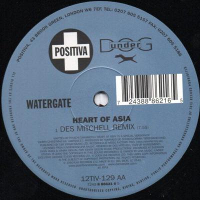Watergate - Heart Of Asia (Des Mitchell Remix)