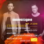 Cosmic Gate live A State of Trance 900 (21.09.2019) @ Mexico City, Mexico