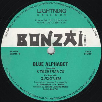 Blue Alphabet - Cybertrance