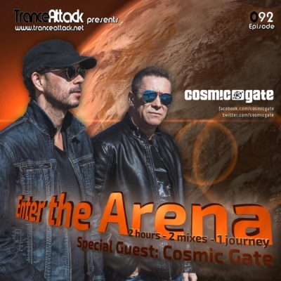 Enter The Arena 092 D-Vine Inc. & Cosmic Gate