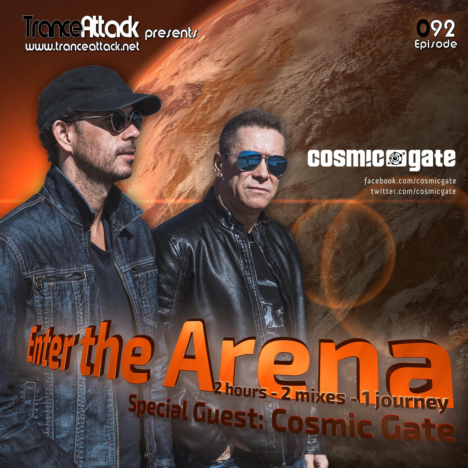 Enter The Arena 092 D-Vine Inc. & Cosmic Gate