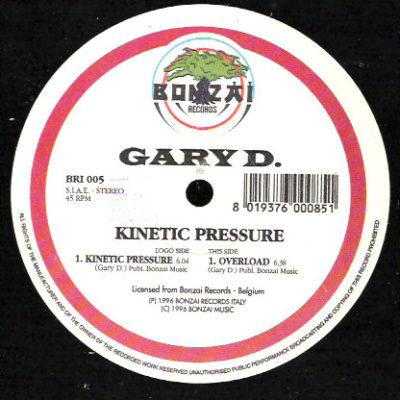 Gary D. - Kinetic Pressure