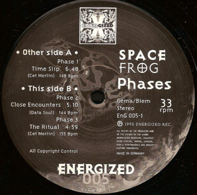 Space Frog - Time Slip (Lost In Space)
