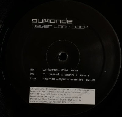 Dumonde - Never Look Back