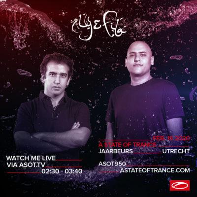 Aly & Fila live at A State of Trance 950 (15.02.2020) @ Utrecht, Netherlands