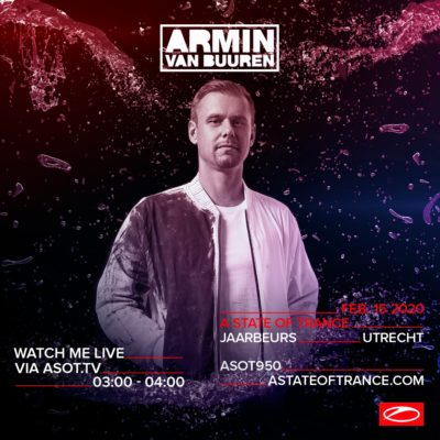 Armin van Buuren's WAO138?! Set at A State of Trance 950 (15.02.2020) @ Utrecht, Netherlands