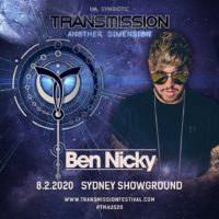 Ben Nicky live at Transmission - Another Dimension (08.02.2020) @ Sydney, Australia