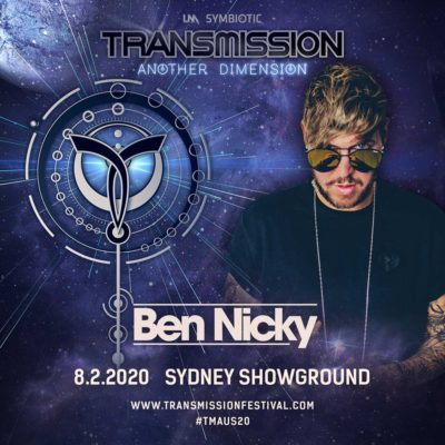 Ben Nicky live at Transmission - Another Dimension (08.02.2020) @ Sydney, Australia
