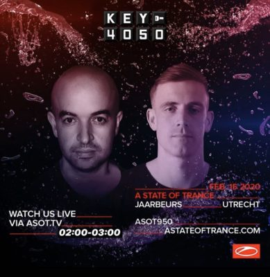 Key4050 live at A State of Trance 950 (15.02.2020) @ Utrecht, Netherlands