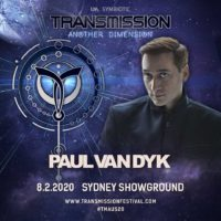 Paul van Dyk live at Transmission - Another Dimension (08.02.2020) @ Sydney, Australia