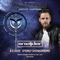 Sneijder live at Transmission - Another Dimension (08.02.2020) @ Sydney, Australia