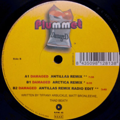 Plummet - Damaged (Antillas Remix)