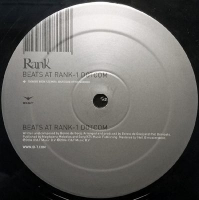 Rank 1 - Beats At Rank-1 Dotcom