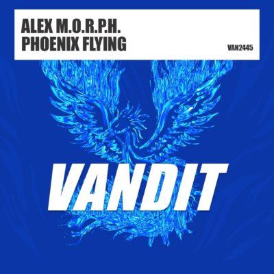 Alex M.O.R.P.H. - Phoenix Flying