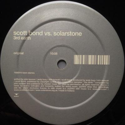 Scott Bond vs. Solarstone - 3rd Earth